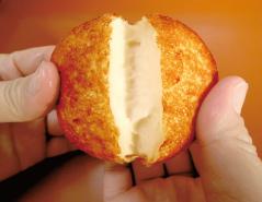 「納屋徳永屋 手作りさつま揚げの製法」出来たてあつあつのさつま揚げ